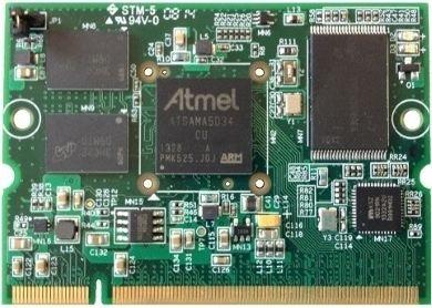 Embedded CPU module board