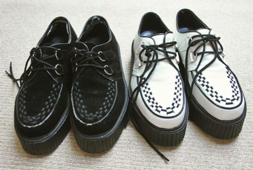 Creepers: Basic Creepers, Clothing Shoes Accessories, Dream Closet, Posts, Creepers Shoes, Kinda Fashion, Creepers Black, Amazing Styles, Grunge Fashion