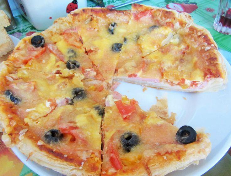 Пицца «Неаполитанский калач» рецепт с фото