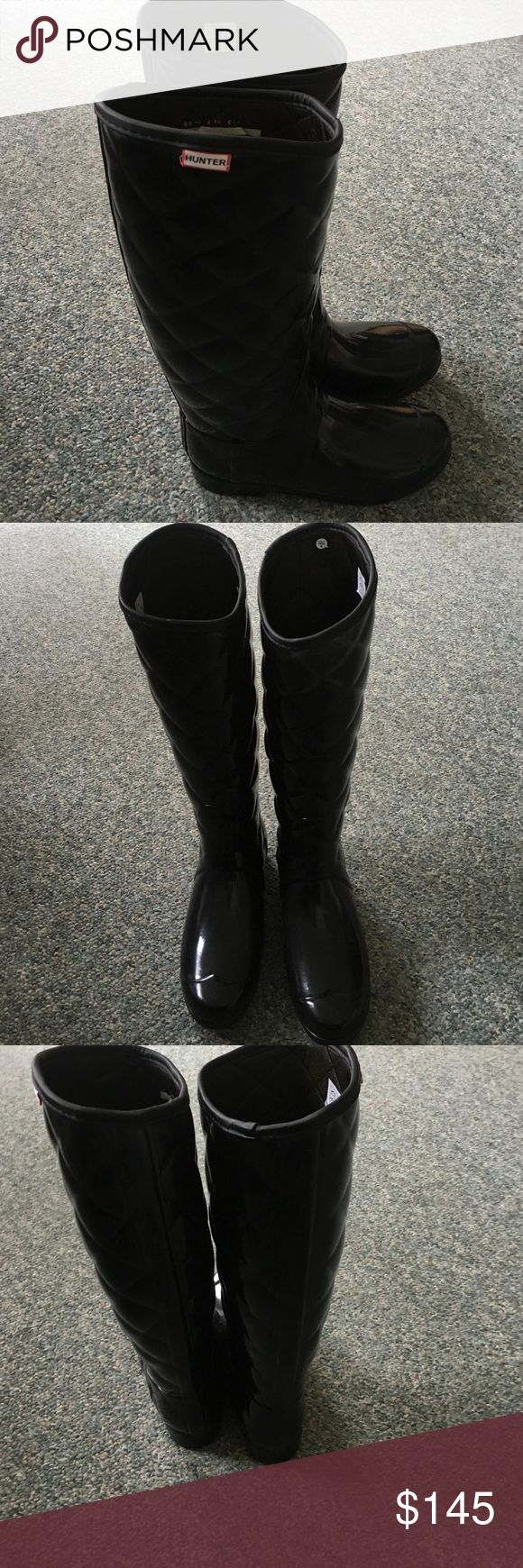 Rubber mats exeter - Hunter Boots Neiman Marcus Exclusive Black Rubber