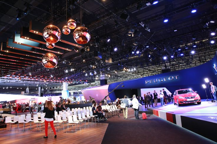#Peugeot stand at the #IAA15 ! #motorshow #exhibition