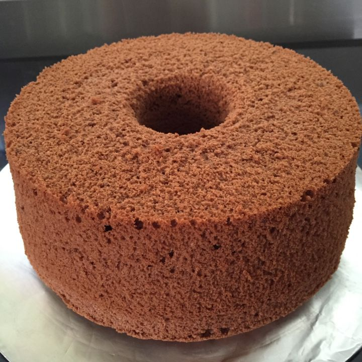 Chocolatee Chiffon cake