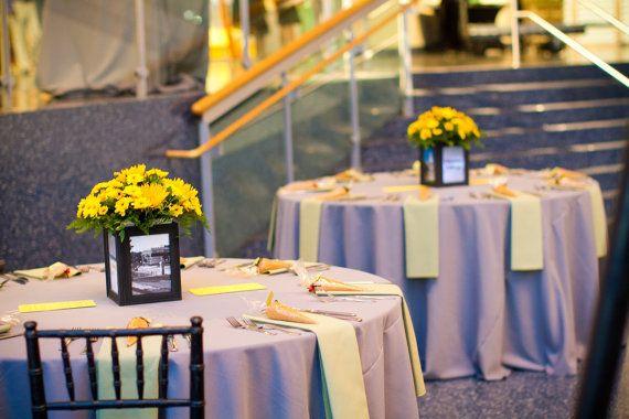 Picture Frame Vase Centerpiece : Picture frame centerpieces wedding centerpiece ideas