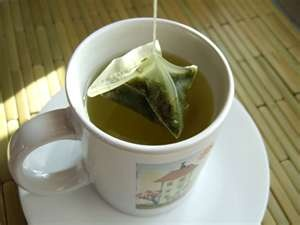 Kirkland green tea silk teabag