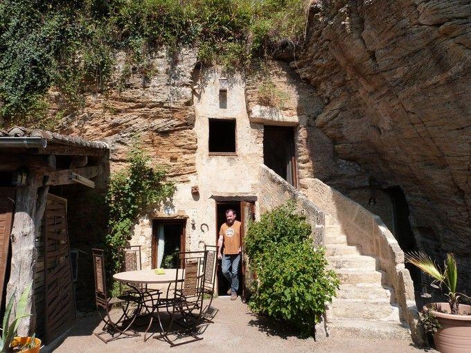 Souvent Les 1181 meilleures images du tableau Troglodytes & Caves sur  ZK94