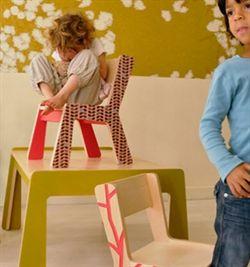 Børnestol fra Kidsonroof