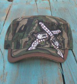 Pistol Camo Hat $21.99