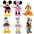 Mickey Minnie e Amigos Donald Margarida Pato Pateta Cão Pluto Pelucia Pelúcia Bichos de pelúcia Crianças Brinquedos de Pelúcia para Presente Das Crianças