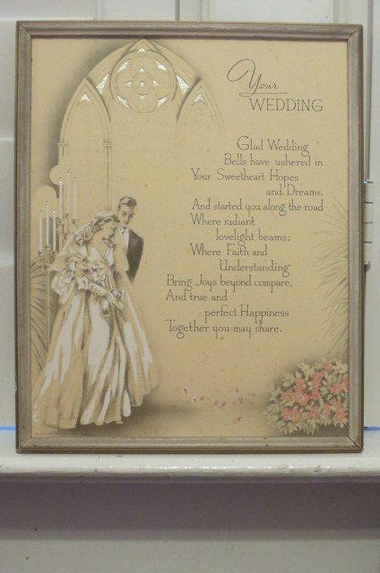 Vintage Wedding Motto Travels