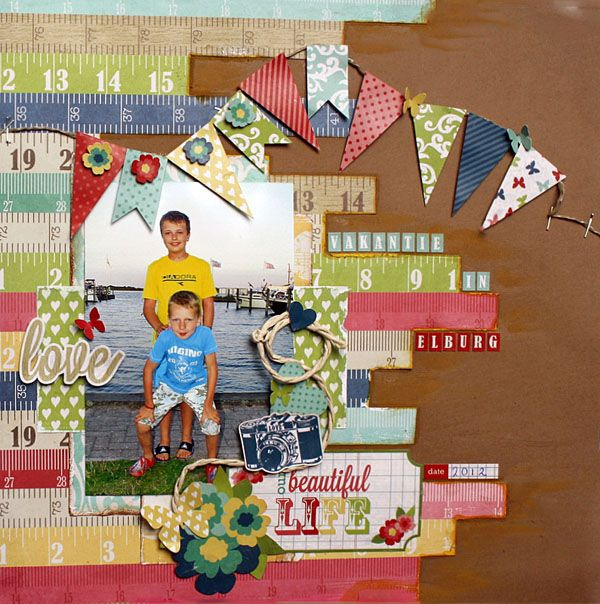 35 best scrapbook layouts siblings images on pinterest my creative scrapbook kit club with exclusive sketch and add ons pronofoot35fo Image collections
