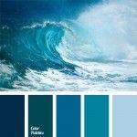 blue color, blue monochrome color palette, blue-green, celadon, color matching, color of sea water, color palettes for decoration, color solution