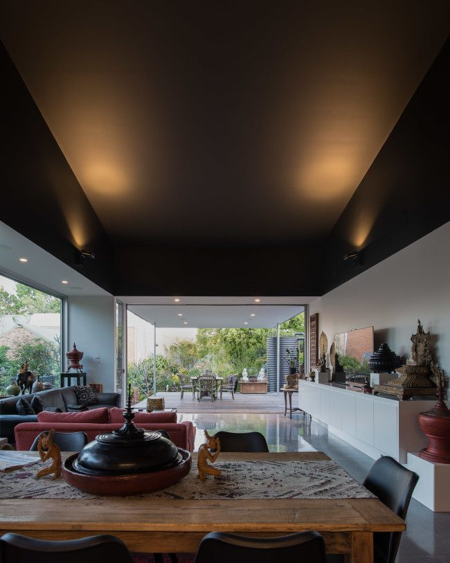 Modern Australian architecture with an Asian twist - Designhunter - Sustainable Architecture with Warmth & Texture