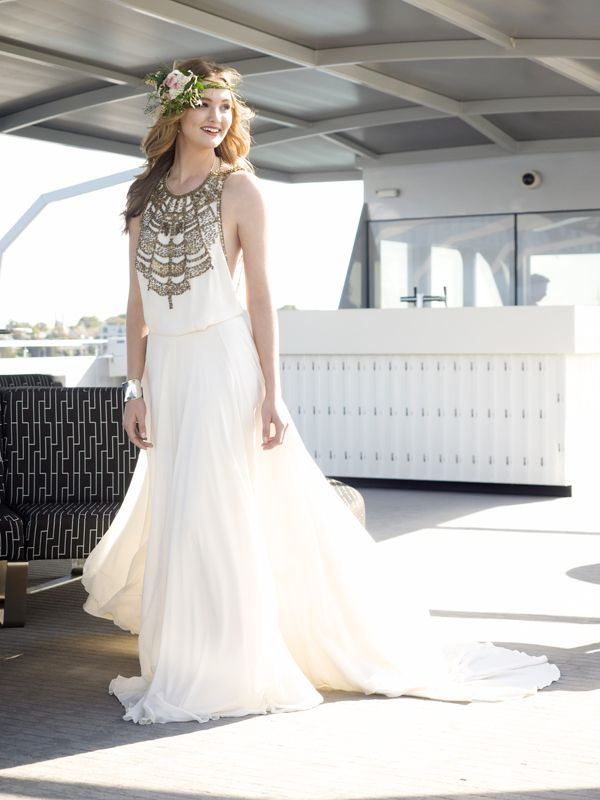 March issue of Sydney Bride magazine - on sale this week!... what an amazing photograph of the bride on our Sky Deck