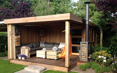 17 meilleures id es propos de abri jardin toit plat sur for Arc de jardin en bois