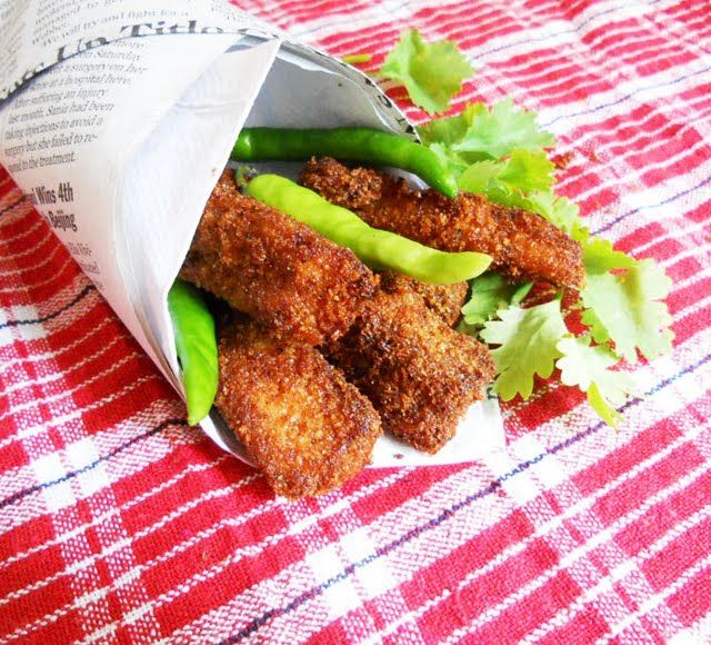 Fish Fingers....why buy store bought ones when you can make them at home...step by step.