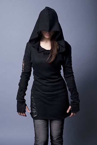 69 best images about Badass things with Hoods on Pinterest | Leather sleeves Acacia swimwear ...