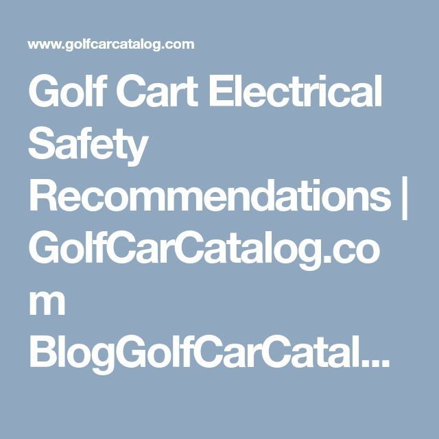 The 22 best Electric Golf Cart Batteries images on Pinterest | Golf ...