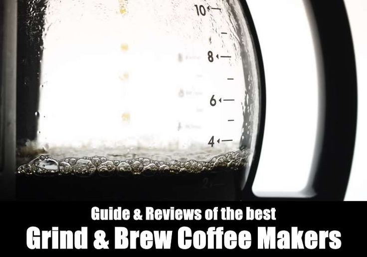 Check out the latest grind and brew coffee makers here! https://www.kitchensanity.com/coffee/best-coffee-maker-with-grinder/