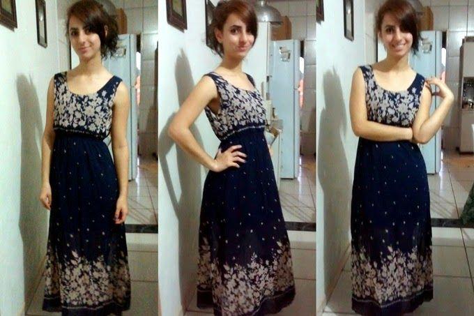 Laiali Safa: Meu novo vestido longo da Sammy Dress
