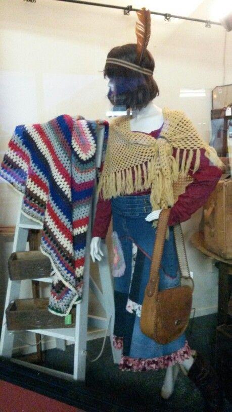 Crochet shawl and blanket