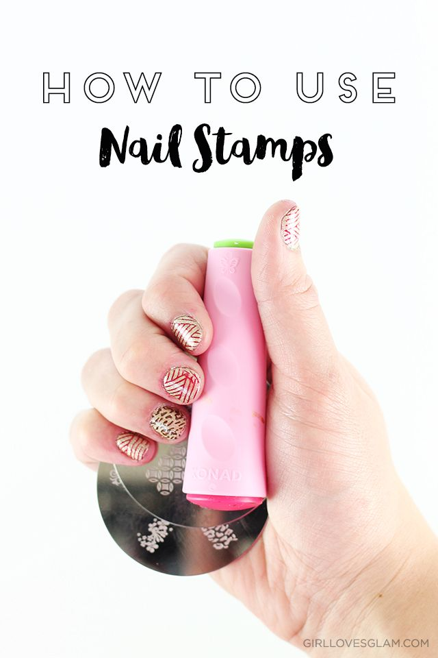 How to use nail stamps to create perfect nail art on each and every one of your manicures!