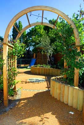 Garden Ideas Play Area 372 best sensory garden images on pinterest | sensory garden