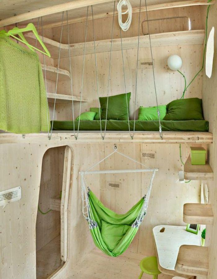17 meilleures id es propos de hamac chambre sur for Cabane en bois 10m2