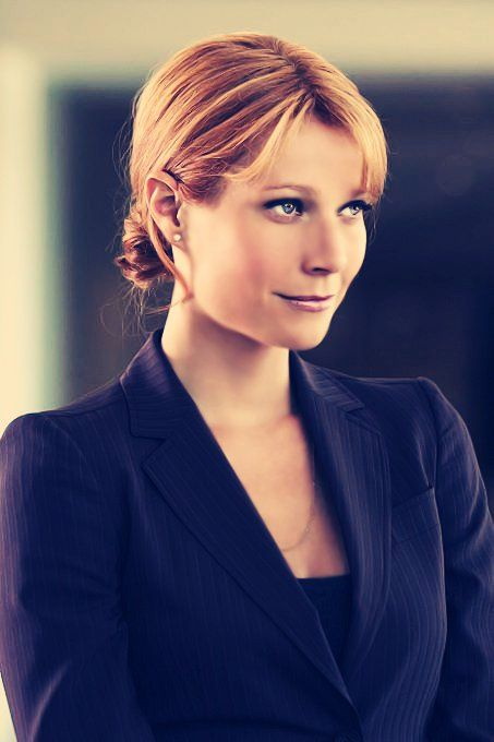 Pepper Potts / Gwyneth Paltrow <3 I love how she got to save the day in the 3rd movie!