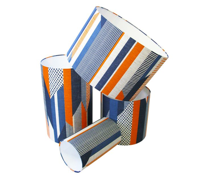 Tamasyn Gambell | Textured Stripe Lampshade | www.tamasyngambell.com