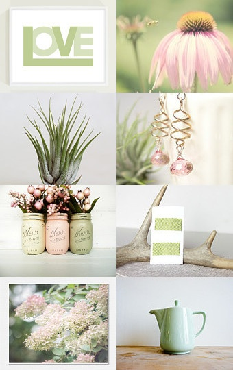 Pinks and sage greens for Mother's Day. #fpteam #fptreasury #fpoe