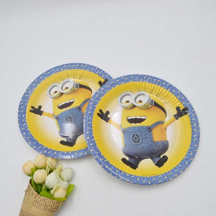 3.19$  Watch more here - 10pcs/set Minions Birthday Party Supplies Plate For Kids Girls Birthday Decoration Baby Shwor Favor Party Plate Minions Party14   #buychinaproducts
