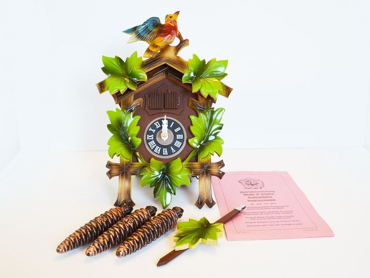 Vintage West German Musical Cuckoo Clock - New in Box Never Assembled, Bavarian Black forest Mid Century, Lador Blaue Donau, Swiss Movement by Trashtiques on Etsy https://www.etsy.com/ca/listing/549672862/vintage-west-german-musical-cuckoo-clock