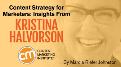 Helpful insights and anecdotes from author Kristina Halvorson herself.