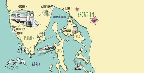 Campingurlaub: Camping in Kroatien: Mein Platz an der Adria | BRIGITTE.de