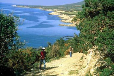 Akamas peninsula in Paphos