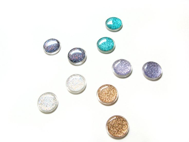 Bridesmaid Earring Sets, Sparkly Stud Earrings, Set of 5, Bridesmaid Jewelry, Glitter Resin Post Earrings, Iridescent Wedding Jewelry by petiteutile on Etsy