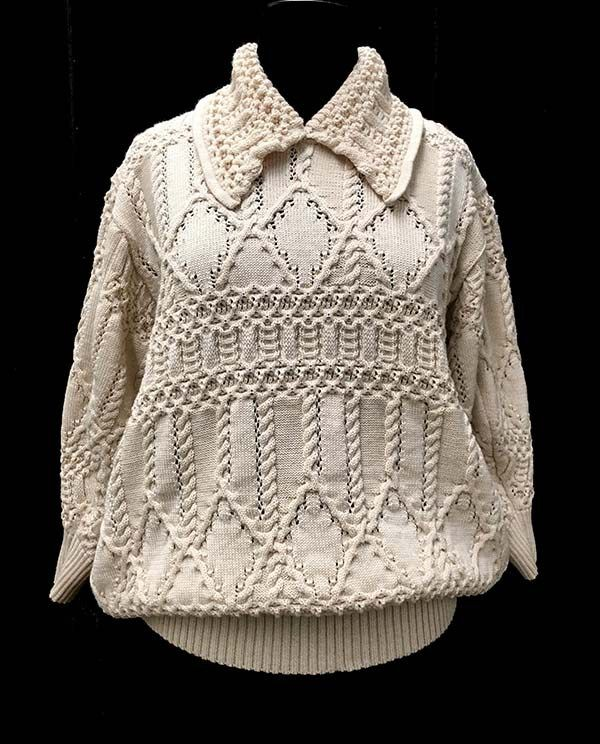 Designer: Tori Macrina: knitGrandeur: FIT & Baruffa 2/30s Cashwool Collaboration 2016: Term Garment Project