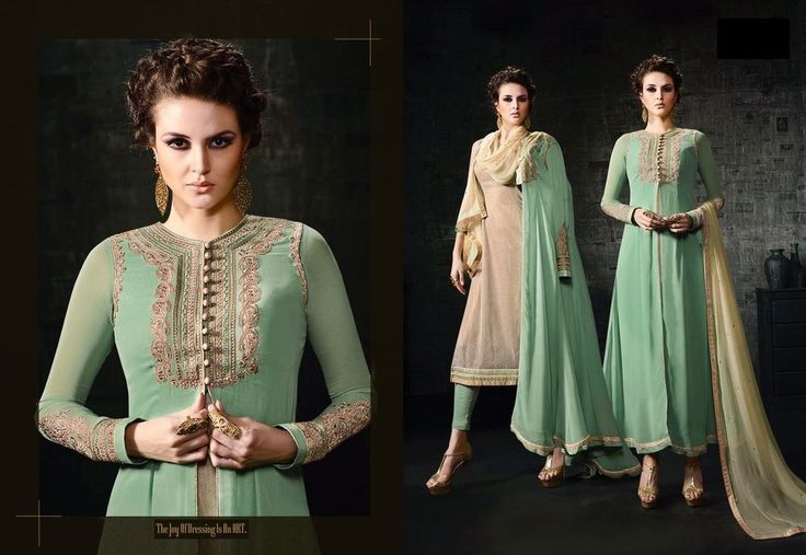 Pakistani Bollywood Indian Anarkali Salwar New Designer Dress Suit Ethnic Kameez #TanishiFashion
