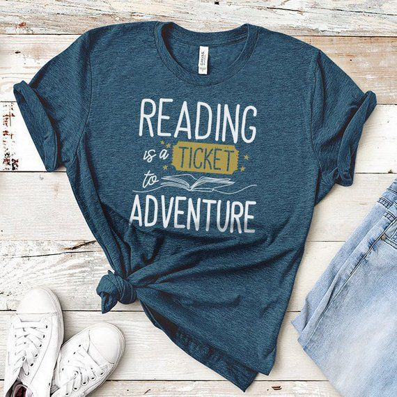 Bookworm T-shirt Librarian Shirt Book Lover Gifts Book Reading Graphic Tee Tops