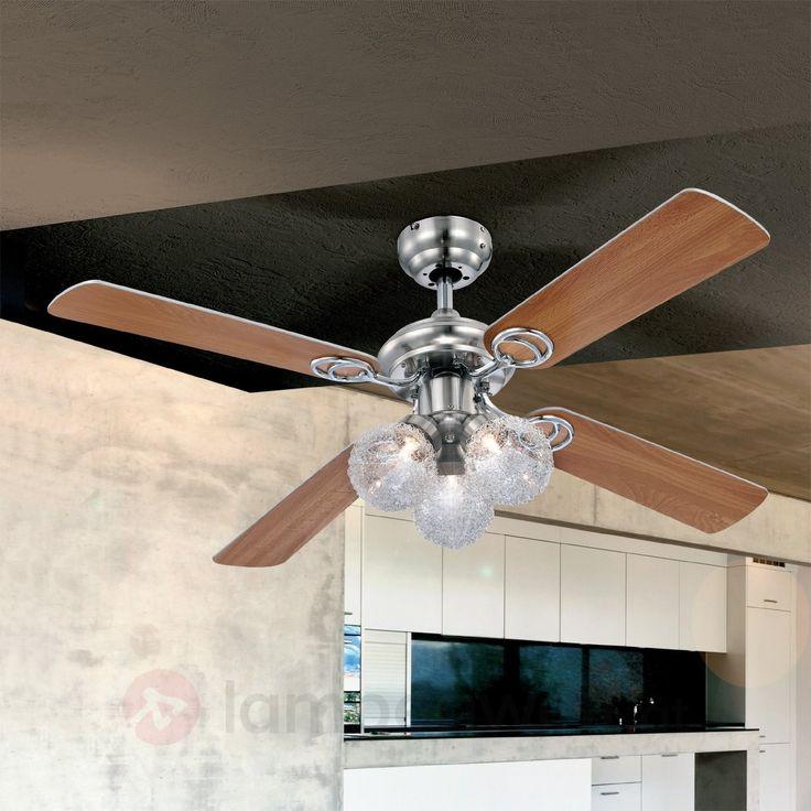 ✓ Abkühlung im #Sommer ✓ Heizkosten sparen dank Winterbetrieb ✓ Licht und #Ventilator an einem einzigen Deckenanschluss