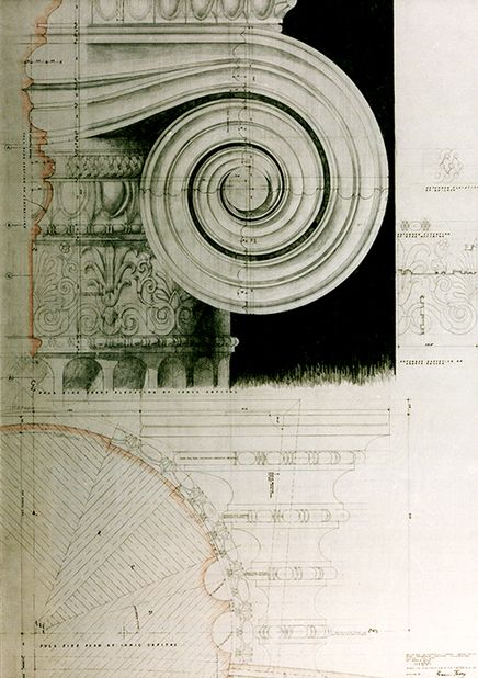 """Francis Terry 2004 Pencil tracing paper www.qftarchitects.com "" !!!"
