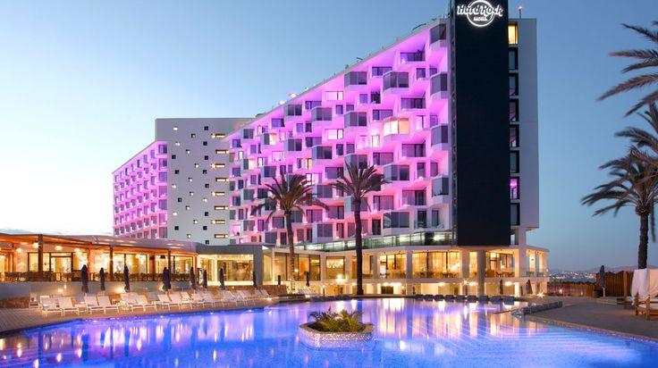 Hard Rock Hotel Ibiza - Platja d'en Bossa, Ibiza http://www.splendia.com/en/hotel/?hotel_id=50661&clearcache=1