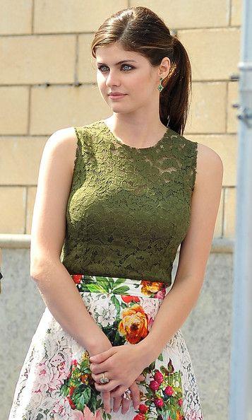 Alexandra Daddario - Arrivals at the Giffoni Film Festival