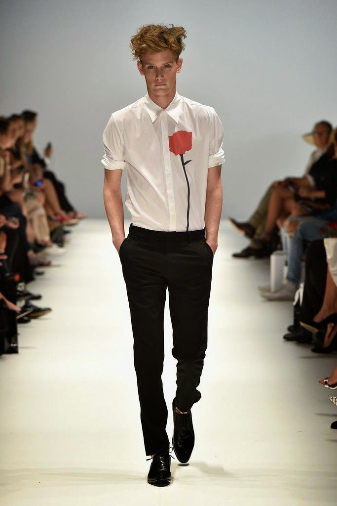 Jayson Brudson Spring Summer 2015 2016 Primavera Verano - Mercedes Benz Fashion Week Australia - #Menswear #Trends #Tendencias #Moda Hombre M.F.T.