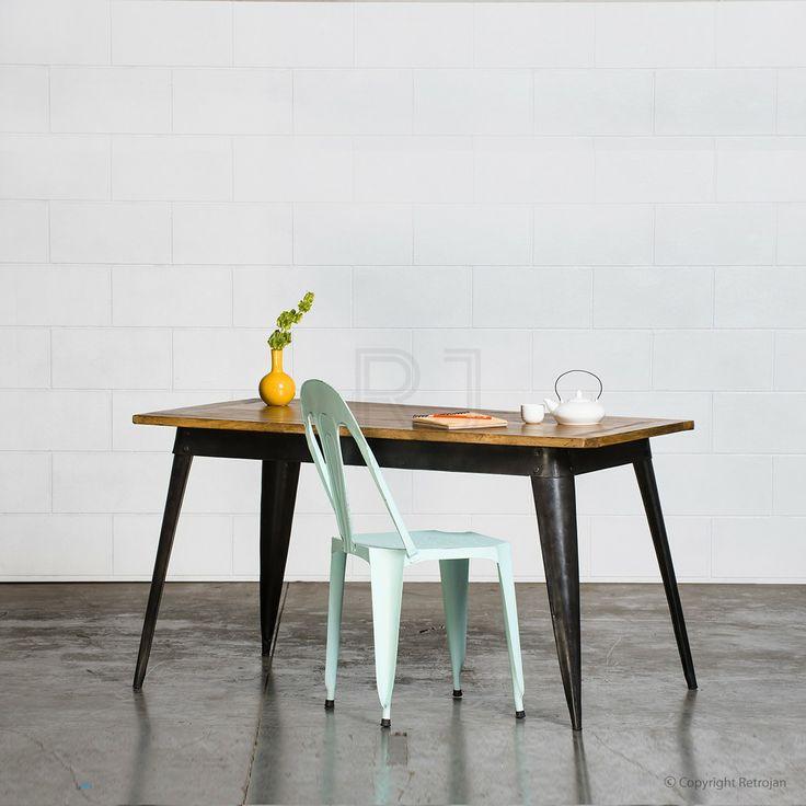 Small Retro Nash Table - Black