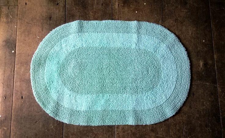 Bath Mat 50 cm - 75 cm MINT GREEN  http://goo.gl/OlsJ0X