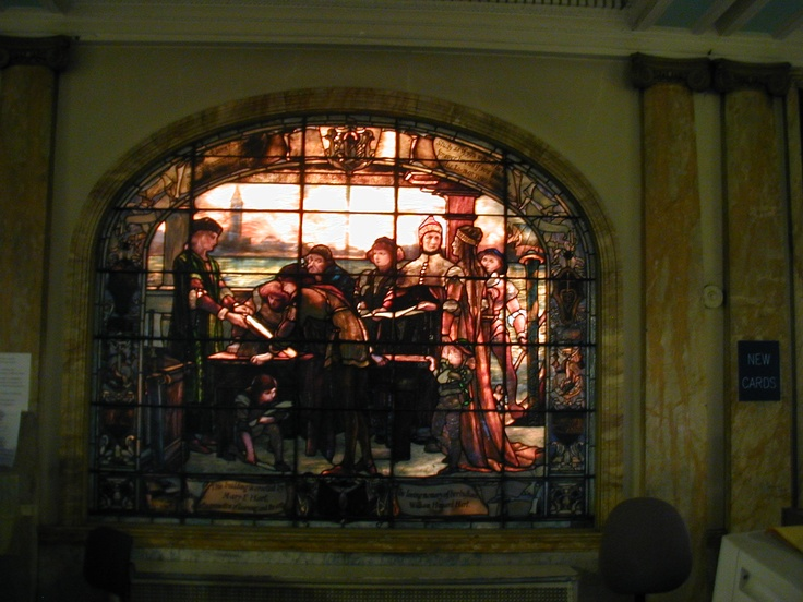 Troy, NY has the most Tiffany Stained Glass windows of any city in the world