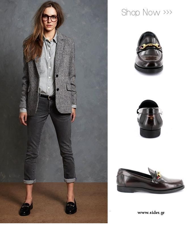 Ladies Womens loafers#Gant# shoes#grace#Mocassins burgundy#style#fashion# siderstores