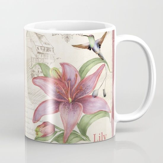 #macro #flowers #mug Available in different #giftideas products. Check more at society6.com/julianarw