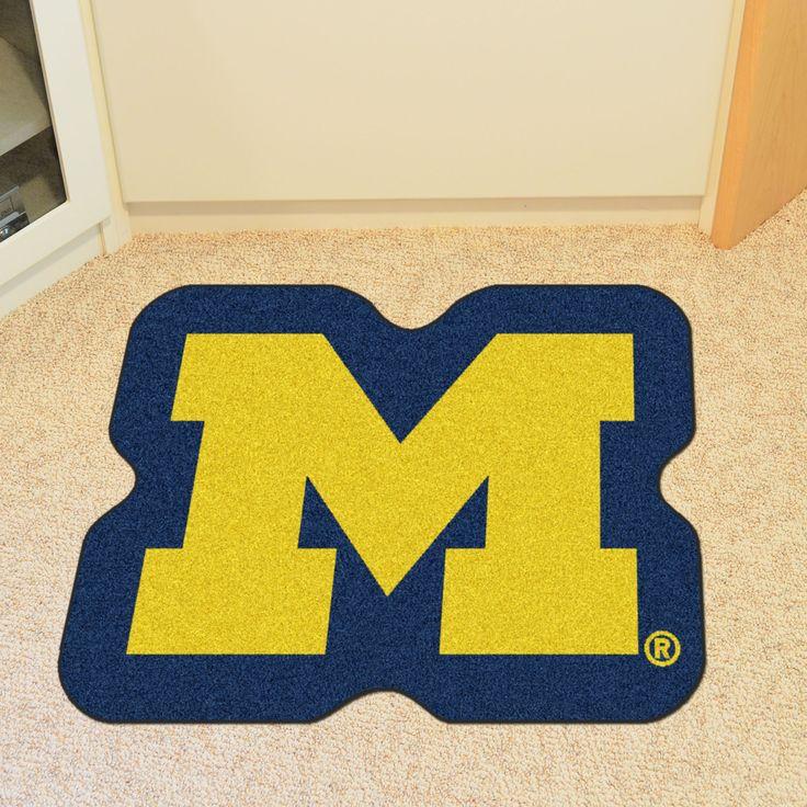 NCAA University of Michigan Mascot Mat